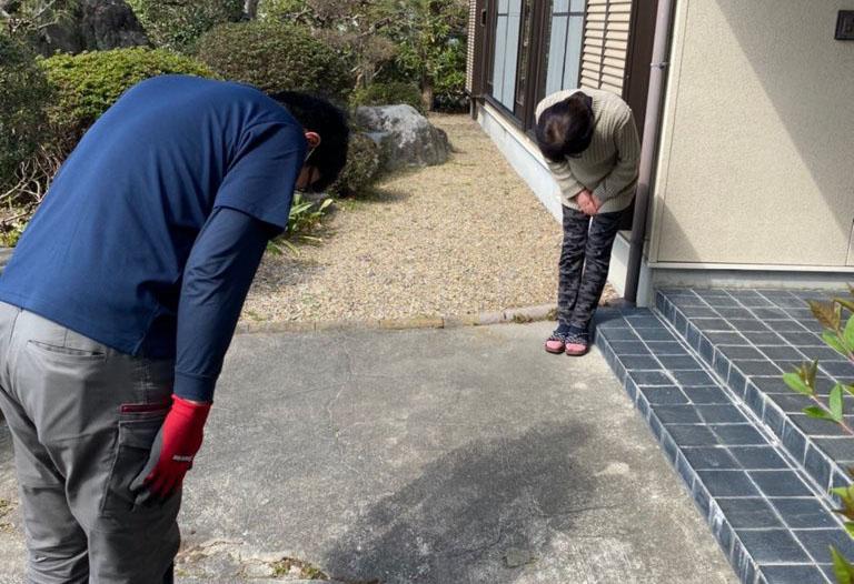 富士宮市のお客様より、遺品整理のご依頼をいただきました